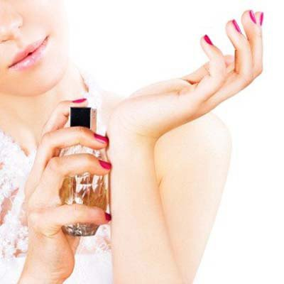 Image result for the best way to apply perfume
